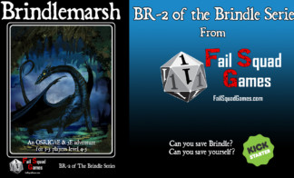 Brindlemarsh has launched!