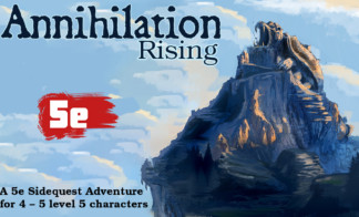 Annihilation Rising Goes live